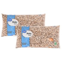(2 Pack) Great Value Pinto Beans, 2 Lb