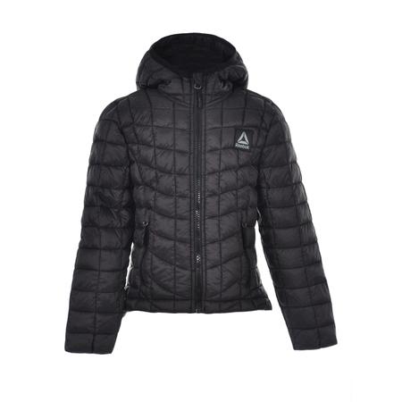 Insulated Jacket Avocado (Reebok Girls' Insulated Hooded Jacket )