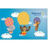 Hot Air Balloon Walmart Gift Card