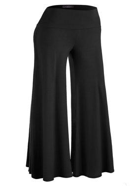MBJ Womens Chic Palazzo Lounge Pants