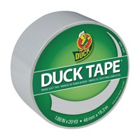 Duck Brand Color Duct Tape, 1.88 inches x 20 yards, Dove Grey