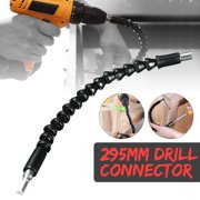 295MM Flexible Shaft Extension Screwdriver Drill Bit Holder Connecting Link for Electronic Drill