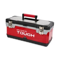 Hyper Tough 20-Inch Stainless Steel & Plastic Tool Box