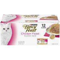 Fancy Feast Classic Pate Chicken Feast Wet Cat Food - (12) 3 oz. Cans