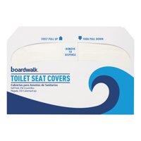 Boardwalk Premium Half-Fold Toilet Seat Covers, 1000 Count
