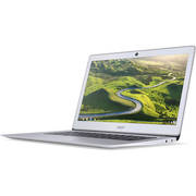 """Acer Sparkly Silver 14"""" CB3-431-C5FM Chromebook PC with Intel Celeron N3160 Processor, 4GB Memory, 32GB Flash Drive and Chrome OS"""