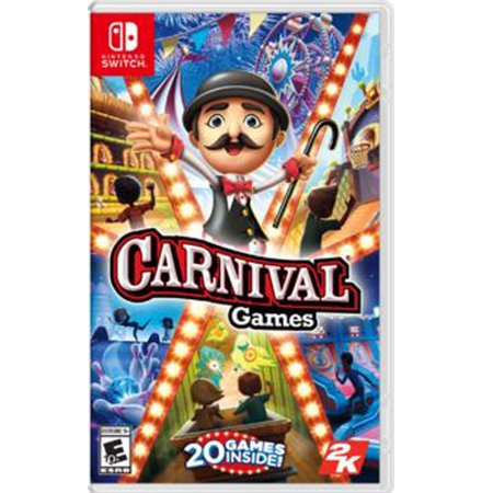 Carnival Games, 2K, Nintendo Switch, 710425551574](Easy Halloween Carnival Games)