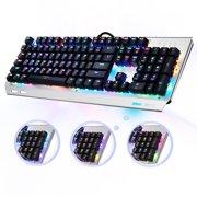 6bb017b893a OMBAR K676 RGB Backlit Game Keyboard Mechanical Gaming Keyboard Cherry Blue  MX Switch 104 Keys Anti