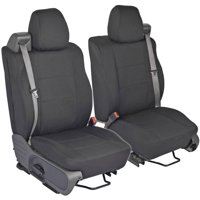 PolyCustom Seat Covers for Ford F-150 Regular and Extended Cab 04-08, Integrated Seat Belt, EasyWrap Cloth