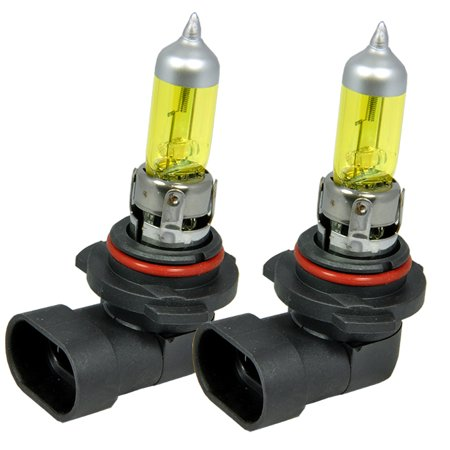 - ICBEAMER H10 9140 9145 55W Fog Lamps Direct Replacement For Auto Vehicle Factory Halogen Light Bulbs [Color: Yellow]
