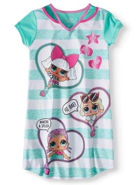 c153502c6b Free shipping. Product Image Girls  LOL Surprise! Pajama Nightgown