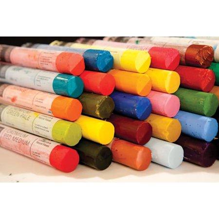 R&F Handmade Paints - Pigment Sticks - Green (Earth Pigment)