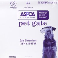 "ASPCA Collection Pet Gate, 23""Hx 26-42""W, Wood"