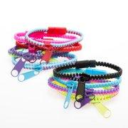 Real Zipper Bracelet (Qty of 3)