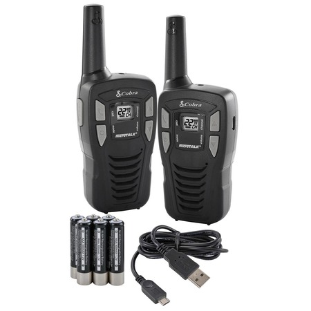 Cobra 16 Mile 22 Channel FRS/ GMRS Walkie Talkie 2 Way Radios CXT195
