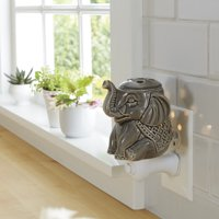 Better Homes & Gardens Elephant Wall Accent Scented Wax Warmer