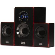 Acoustic Audio by Goldwood 2.1 Speaker System 2.1-Channel Home Theater Speaker System, Black