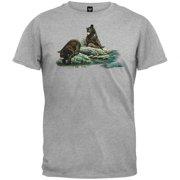 Curious Black Bear Youth T-Shirt