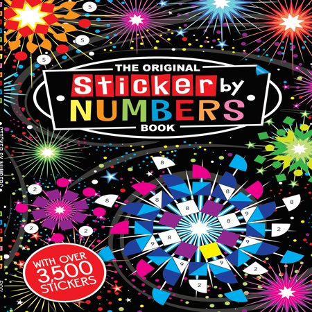 The Original Sticker by Numbers Book - Halloween Colour By Number