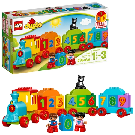 LEGO DUPLO My First Number Train 10847 (23 Pieces)](Lego Halloween Ghost Train)