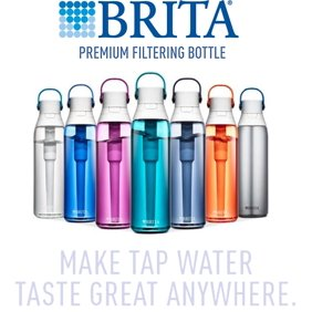 b735e66b3c Lunatec Aquabot Water Bottle - Spray Your Water - 32 oz. / Blue ...