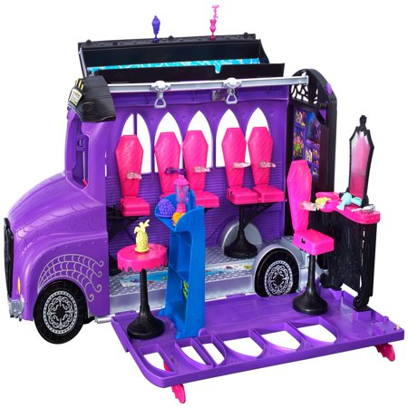 Monster High Deluxe Transforming School Bus Vehicle Playset - Monster High Sets