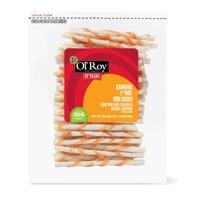 "Ol' Roy Rawhide 5"" Dog Twist with Chicken Chews, 23.6 oz, 100 count"
