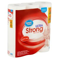 Great Value Ultra Strong Bath Tissue, 12 Count