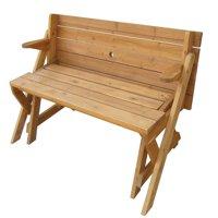 Interchangeable Picnic Table / Garden Bench