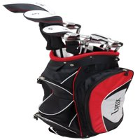 Lynx Power Tune Men's Complete 11-Piece Golf Club Set with Cart Bag, Right Handed