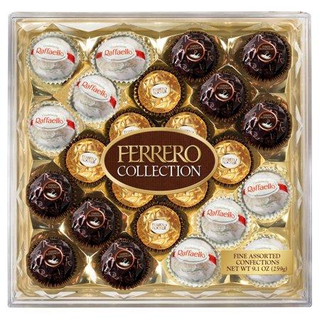Ferrero Rocher Hazelnut Chocolates Diamond Collection Box, 24 Ct (2-Pack)