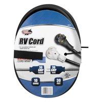 Road Power 10/3-Gauge 30-Amp RV Extension Cord, 30-Feet