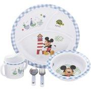Disney Baby Mickey Mouse Dinnerware Set 5 pc Box