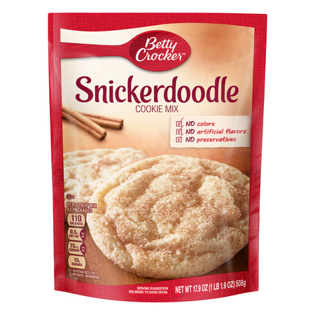 (2 Pack) Betty Crocker Snickerdoodle Cookie Mix, 17.9 oz - Halloween Owl Cookies