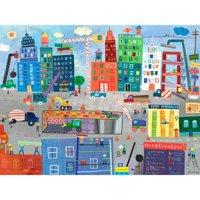 Oopsy Daisy - Construction Zone Canvas Wall Art 40x30, Jill McDonald