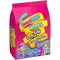 Nestle Assorted Candy Variety Pack, Sweetarts, Nerds, Laffy Taffy & Gobstopper, 3 Lb