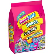 Wonka, SweeTarts Nerds Laffy Taffy Gobstoppers Candy, 48 Oz, 150 Ct