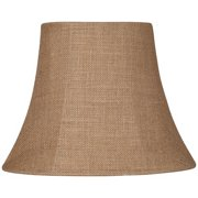 Bwood Natural Burlap Small Oval Lamp Shade 6 8x11 14x11 Spider