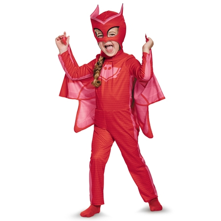 PJ Masks Owlette Classic Costume for Toddler - Bamm Bamm Toddler Costume