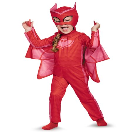 PJ Masks Owlette Classic Costume for Toddler - Robin Costume Mask