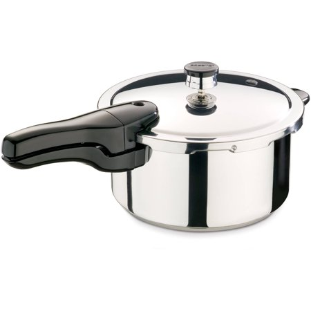 Presto 4-Quart Stainless Steel Pressure Cooker