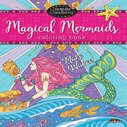 Cra-Z-Art Timeless Creations Magical Mermaids Coloring Book