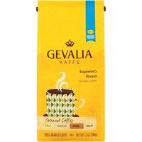 Gevalia Espresso Roast Ground Coffee, 12 oz Bag