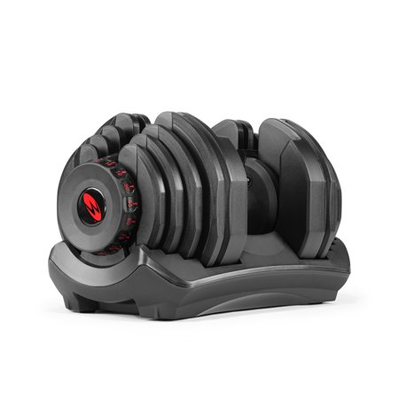 Bowflex SelectTech 1090 Adjustable Dumbbell Syncs with SelectTech App & Space Saving