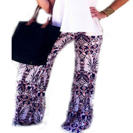 Boho Women Baggy Harem Pants Hippie Wide Leg Gypsy Yoga Palazzo Trousers - Wear Baggy Pants