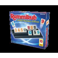 Rummikub large number edition - the original rummy tile game