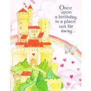 Princess Birthday Girl Invitations W Envelopes