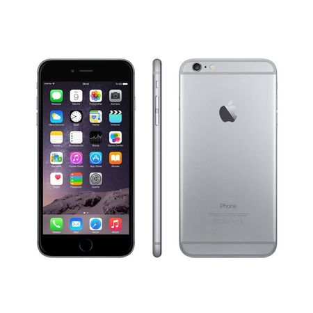 Refurbished Apple iPhone 6 Plus 64GB, Space Gray - Unlocked (Apple Iphone 6 And 6 Plus Comparison)