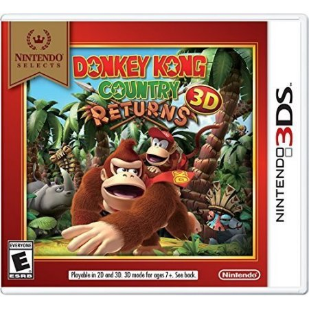 Nintendo Selects: Donkey Kong Country Returns 3D, Nintendo, Nintendo 3DS, 045496743802](The Donkey Game)