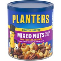 (3 Pack) Planters Lightly Salted Mixed Nuts 15 oz. Canister